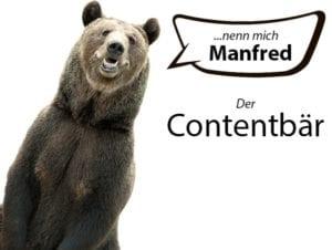 Contentbär Contest 2021 Manfred